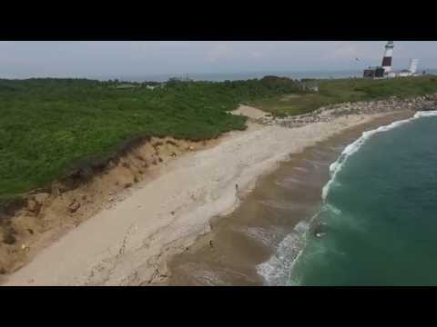 Montauk Point Lighthouse, Long Island - DJI Phantom 3
