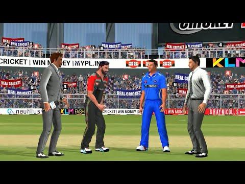 19th May IPL 11 Rajasthan Royals Vs Royal Challengers Bangalore Real cricket 2018 mobile Gameplay