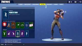 FORTNITE BATTLE ROYALE ACCOUNT SHOWCASE 40+ SKINS! (Renegade Raider, Merry Marauder, And MORE!)