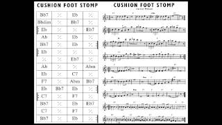 CUSHION FOOT STOMP - Clarence Williams Washboard Five
