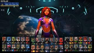 Todos Os Personagens De Injustice 2 PT/BR