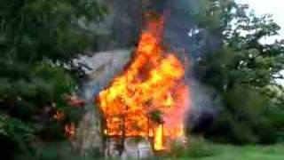 FIRE 1 - House Fire in Cairo, Illinois, June 12, 2008