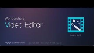 Como descargar e Instalar el mejor Programa para editar vídeos/ Wondershare Vídeo Editor