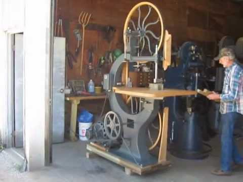 Baxter Machine Co No 3 36 Inch Band Saw Youtube