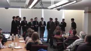 Good Old A Cappella (Soul to Soul) by the UVM Top Cats 10-11-14 - Friends & Family Event