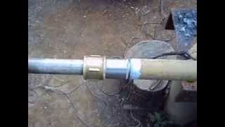 Подготовка торцов металлических труб к сварке.