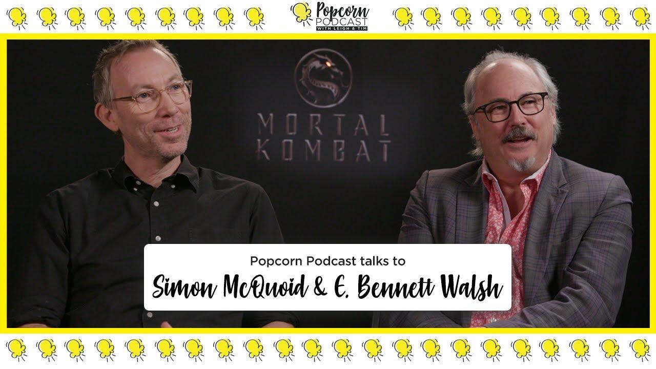 Simon McQuoid and E. Bennett Walsh -  Popcorn Podcast - Video Editor