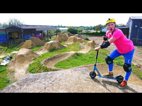 BACK AT IT AGAIN...ON THE DIRT SCOOTER!