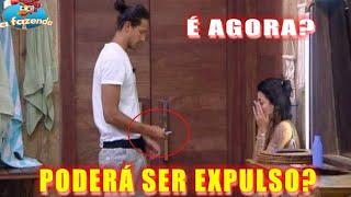 A Fazenda: João Zoli tem acesso ao celular de Gabi Prado e poderá ser EXPULSO antes da FINAL? thumbnail