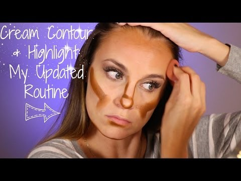 How to Cream Contour & Highlight  Routine