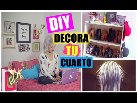 4 ideas para decorar tu habitaci n ideas faciles - Decora tu habitacion online ...