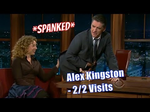 Alex Kingston - She Has A Sex Thing About Rabbits - 2/2 Appearances In Chronological Order [720p]