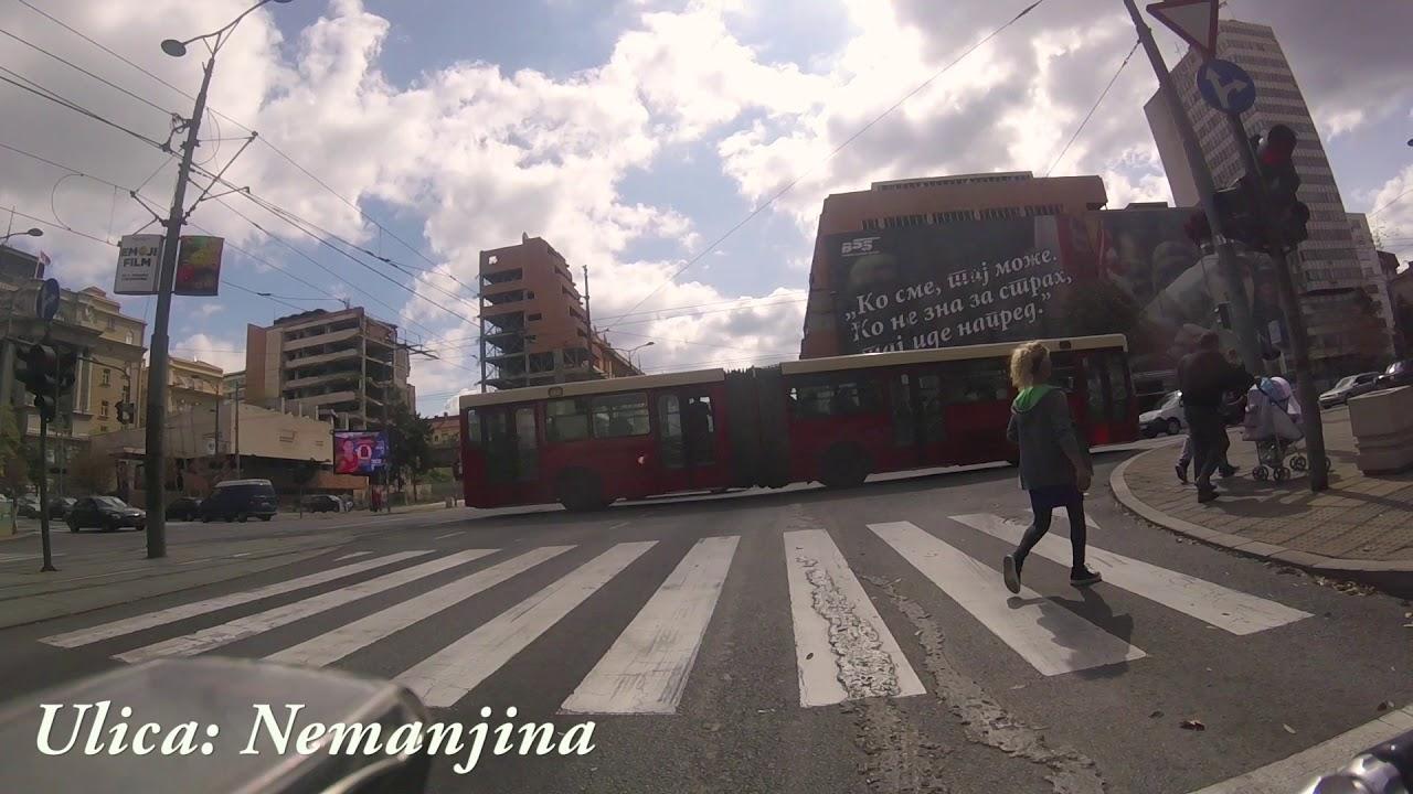 mapa beograda nemanjina ulica Ulica Nemanjina Beograd   Nemanjina street Belgrade   YouTube mapa beograda nemanjina ulica