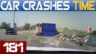BAD DRIVERS & INSTANT KARMA - BEST OF DASHCAMS - Episode #181