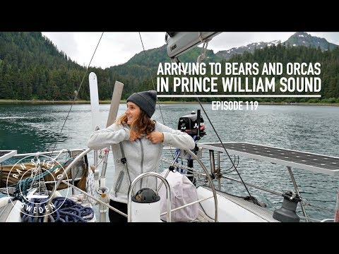 Arriving to Bears and Orcas in Prince William Sound  Ep 119 RAN Sailing