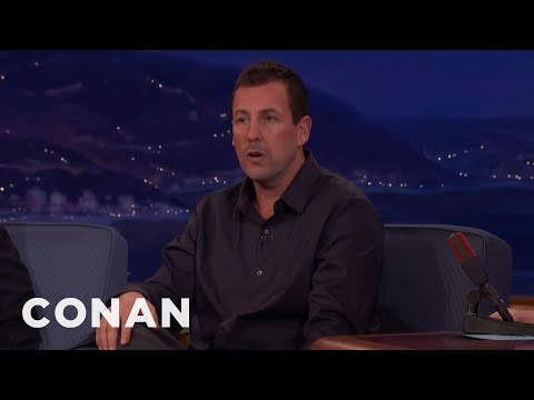 Adam Sandler Made His Wife's Cannes Dream Come True   CONAN on TBS