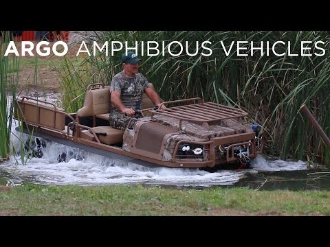 Canadian Success Story: Argo Amphibious Vehicles | Driving.ca