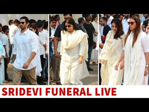Sridevi funeral: Bollywood celebrities arrive at Celebrations Sports Club