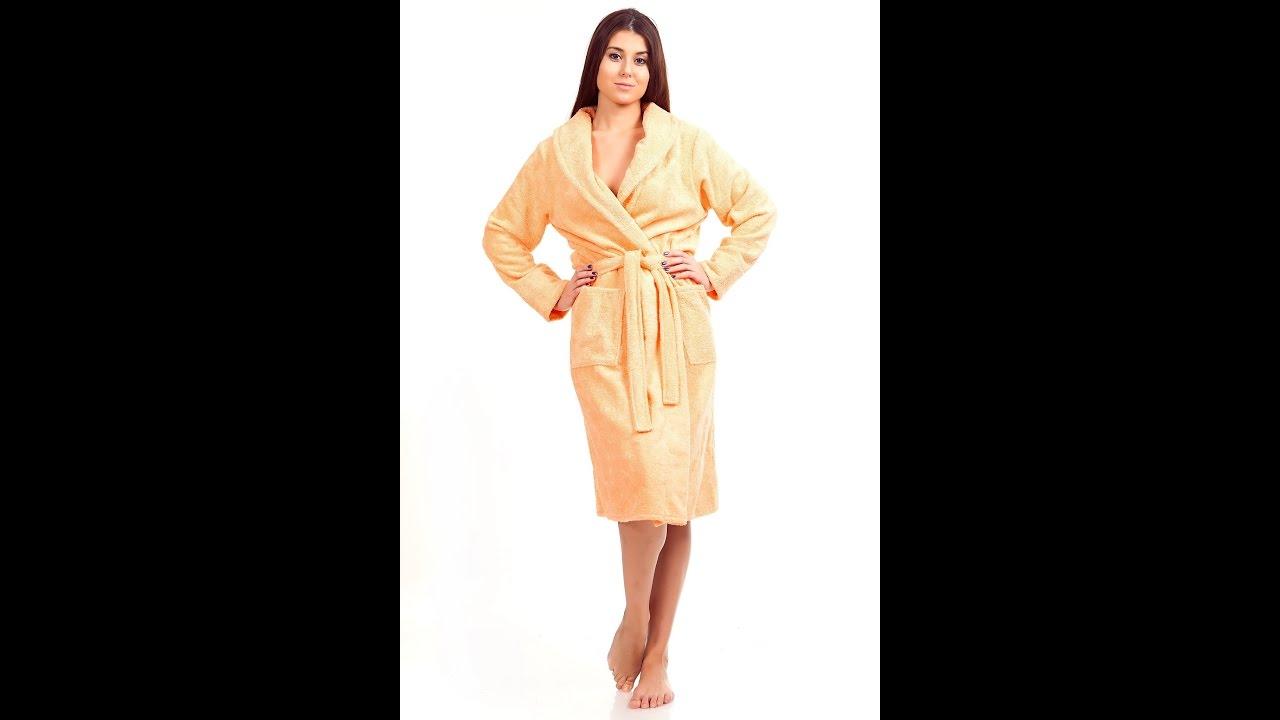 Шёлковые халаты от Annanas.ru - YouTube