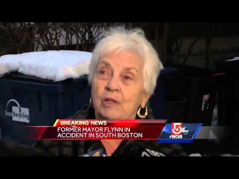 Former Boston Mayor Ray Flynn crashes car in Southie