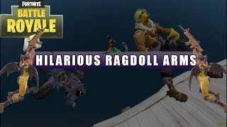 *HILARIOUS* FORTNITE RAGDOLL ARM GLITCH! - CptWillis