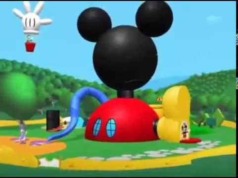El ba o de burbujas de pluto la casa de mickey mouse - Youtube casa mickey mouse ...