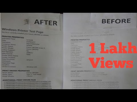 How to solve low quality  printing issue