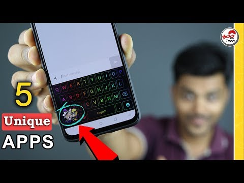 5 Amazing Android Apps that you should Try 🔥🔥  Tamil Tech