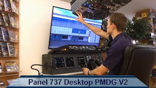 Panel 737 Desktop PMDG plug and play V2 / Part 3 flight