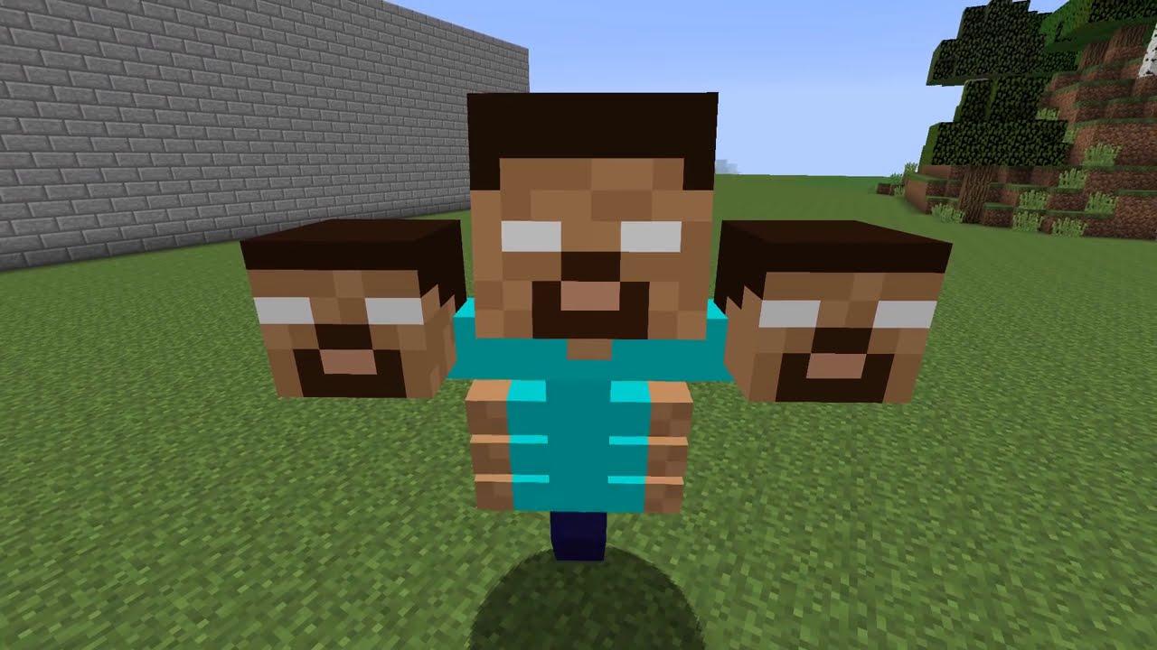 ÜÇ KAFALILAR ŞEHRE GELDİ! 😱 - Minecraft