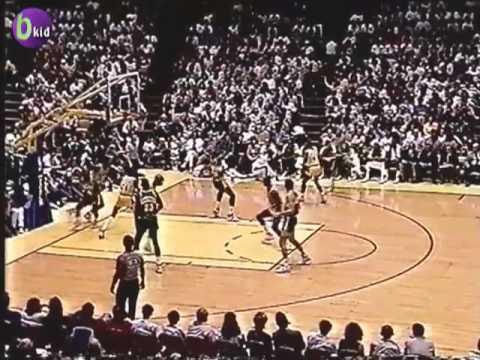 Magic & Showtime Lakers in Kareem Abdul Jabbar's final regular season game |