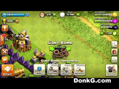 Clash of Clans How to Rearm Bombs