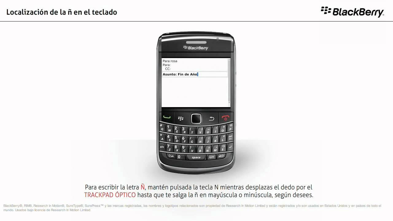 rastrear blackberry por numero