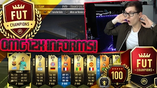 FIFA 17: OMG 12x INFORMS IN PACK OPENING! (DEUTSCH) - ULTIMATE TEAM - FUT CHAMPIONS REWARDS!