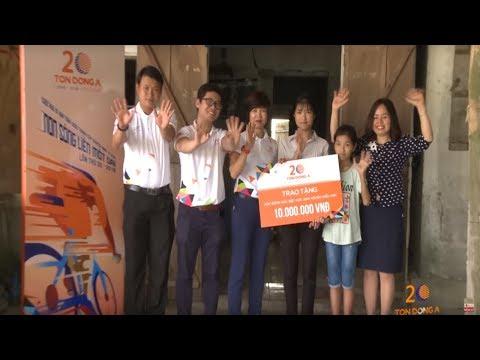 tuổi thơ Không Người Thân - Mai Anh  | Cúp Xe Đạp Truyền Hình Tp Hồ Chí Minh - Tôn Đông Á Thấp Sáng Ước Mơ