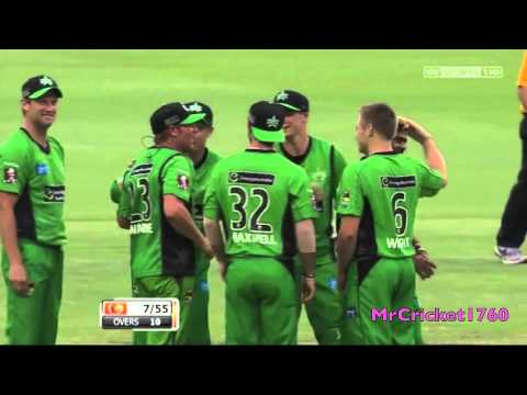 Lasith Malinga 6/7 vs Perth Scorchers 12/12/12