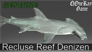 Dota 2 Items : Tidehunter -  Recluse Reef Denizen ( Genuine , Mythical ) Review