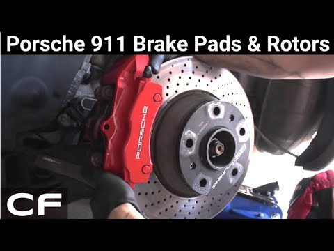 How to Change Porsche Brakes – Brake pad and rotor tutorial on my 911