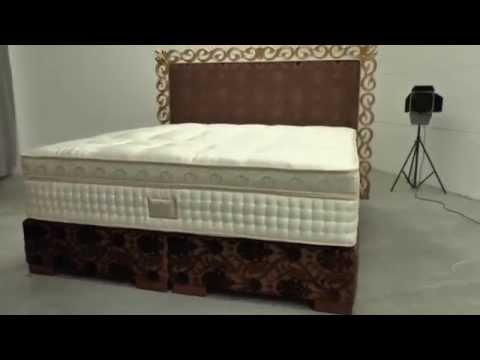 boxspringbetten fotosession 3 teiliges boxspringbett der boxspring ag youtube. Black Bedroom Furniture Sets. Home Design Ideas
