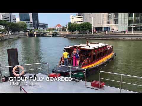 Singapore River Cruise Clark Quay Boarding 2018