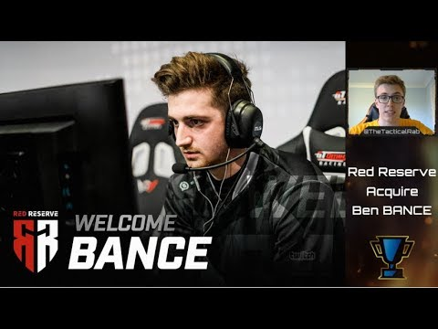 Red Reserve announce Bance! - European Super-team | CoD Rostermania | Call of Duty Roster Changes thumbnail