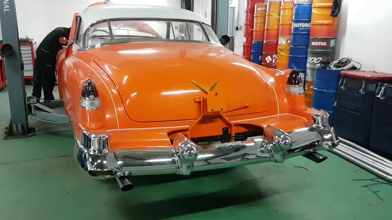 1951 Cadillac Coupe Deville Dual Exhaust Youtube