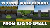 35 minecraft fence wall design ideas tricks youtube 221 workwithnaturefo