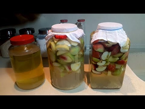 How to make apple vinegar at home