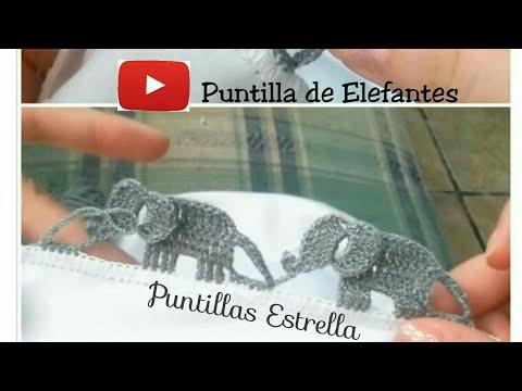 Crochet Elephant Edging Free Crochet Pattern | 360x480