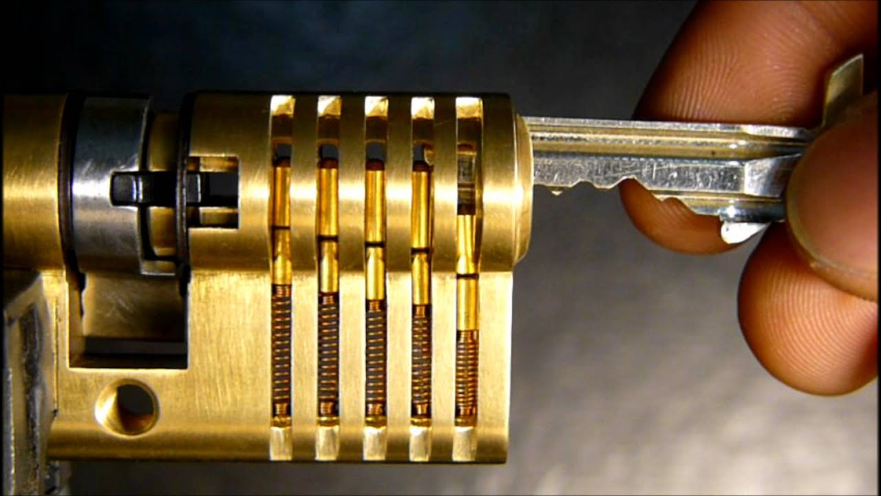 How A Lock Works Youtube