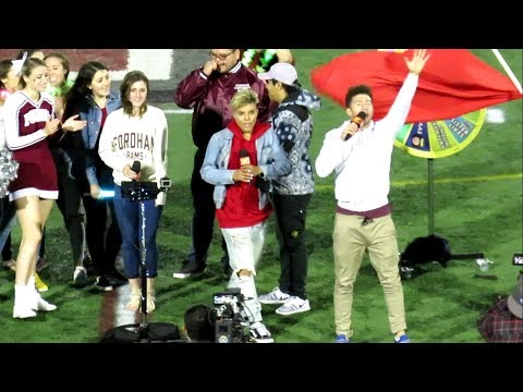 MTV Crash Karaoke at Fordham Football Game Salute to Heroes vs Yale  - September 30, 2017