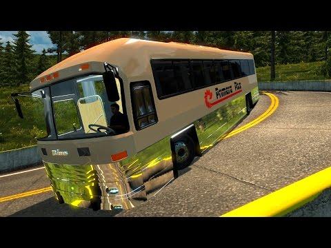 ETS2 Bus Dina Avante Primera Plus | México de Toluca a Iguala! Euro Truck Simulator 2