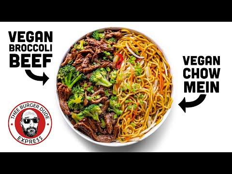 VEGAN Broccoli Beef & Chow Mein like PANDA EXPRESS but BETTER!