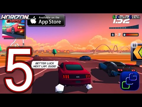 Horizon Chase iOS Walkthrough - Part 5 - Brazil Cup: Brasilia, Chapada Diamantina